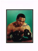 Archie Moore Autograph Signed Photo